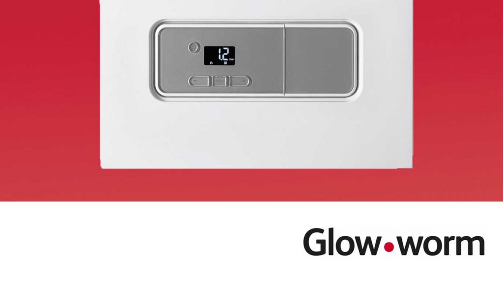 New boiler Plymouth - Glow worm boiler and logo